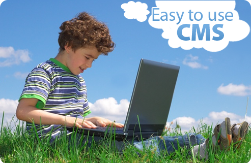 Easy to use CMS